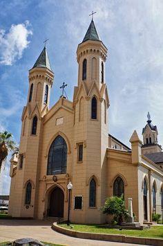 Sacred Heart Catholic Church Galveston Texas Across The