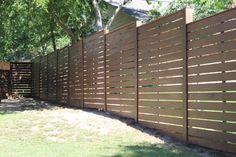 Modern Fence Outside Modern Fence Fence Landscaping