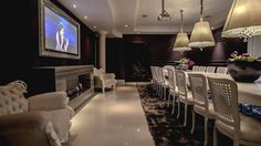 dining and home theater