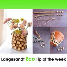 We love living in #harmony with nature at Langezandt. Here is our #eco tip of the week - we'd love to hear what you think of it!