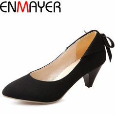 Find More Women's Pumps Information about ENMAYER Pointed Toe Spinke Heels Women Shoes Fashion Sexy Style Nude Pumps Five Colors Party or Dating Shoes for Ladies,High Quality shoe catalog,China shoes for american football Suppliers, Cheap shoe leather from ENMAYER CO., LIMITED on Aliexpress.com