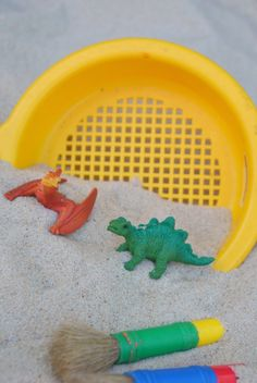 And other fun Dinosaur Camp ideas! And other fun Dinosaur Camp ideas! Dinosaur Theme Preschool, Dinosaur Activities, Preschool Themes, Preschool Lessons, Craft Activities, Preschool Crafts, Toddler Activities, Crafts For Kids, Dinosaur Dinosaur