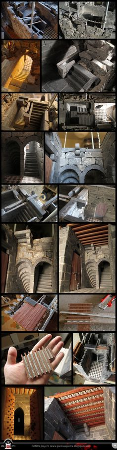 Dp 174: Stairwell and horizontal structures by Wernerio.deviantart.com on @DeviantArt