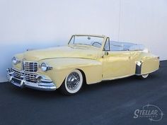 1947 LINCOLN CONTINENTAL CONVERTIBLE 390ci V8 AUTO POWER TOP RARE ONLY 738 BUILT