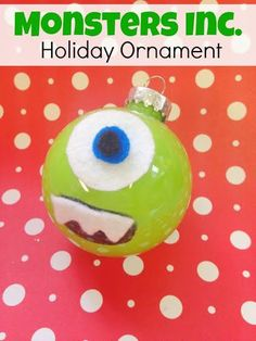 Mike Wazowski Ornament! craft