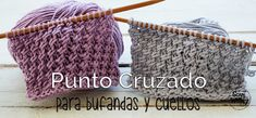 Un punto ideal para tejer prendas de chicos y chicas: bufandas, chalecos, cuello… – Harika Örgü Modelleri, Tığ Modelleri Knitting Videos, Crochet Videos, Knitting Stitches, Baby Knitting, Knitting Designs, Knitting Projects, Love Crochet, Knit Crochet, Crochet Hats