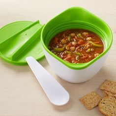 Monbento products Soup Bowl 2 of each of these products and store them in my picnic basket because if you are going to eat on the go do it outdoors and get some Vitamin D too.  #williamssonoma