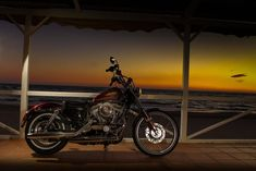 #harley #seventy-two #sunset