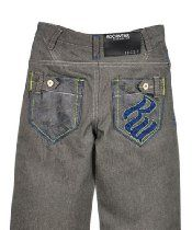 "Rocawear ""Lattice Night"" Jeans (Sizes 4 - 7X) Toddler Boy Jeans, Boys Jeans, Toddler Boys, Jeans With Chains, Debenhams, Jeans For Sale, Boy Outfits, Jeans Size, Denim Shorts"