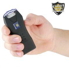STREETWISE Life Guard 2.5 K Million Volts Stun Gun - Black