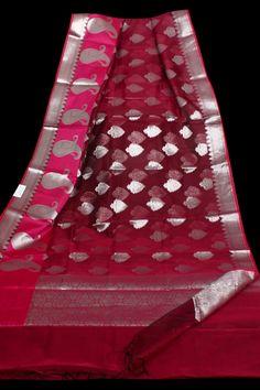 Organza Sarees at (PID: Organza Sarees with zari weaving m saree and 80 cm blouse free ship in India Designer Silk Sarees, Organza Saree, Weaving, Ship, India, Blouse, Dress, Goa India, Dresses