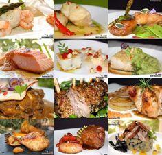 Recetas de pescado y carne para Navidad