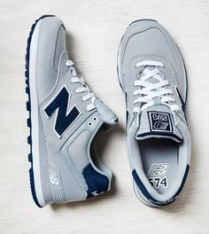 Grey New Balance 574 Sneaker