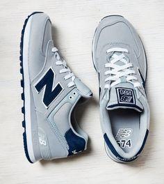 Grey New Balance 574 Sneaker