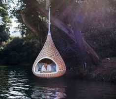 i would never leave this (if there were no mosquitos)