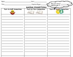 "This pack of graphic organizers will guide your students to practice essential reading strategies that good readers use, including:  -summarizing using the ""somebody-wanted-but-then-finally"" strategy  -making text-to-self, text-to-text, and text-to-world connections  -asking thin and thick questions  -retelling  -predicting using evidence from the text"