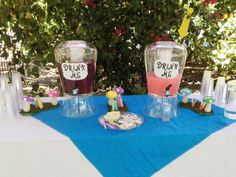 An Alice in Wonderland Bridal Shower - Inspired By Dis