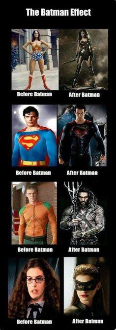 The Batman effect - Batman Funny - Funny Batman Meme - - The post The Batman effect appeared first on Gag Dad. Avengers Memes, Marvel Memes, Marvel Dc Comics, Dc Memes, Funny Memes, Hilarious, Jokes, Funniest Memes, Funny Pics