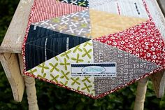 Summer runner in REUNION fabric - love the fabric!