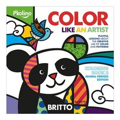 Britto Color Like an Artist Animal Edition by P'kolino