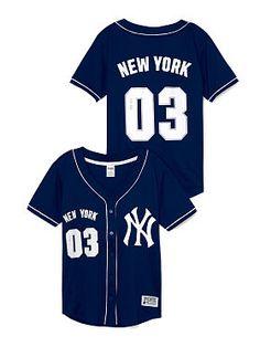 dcc5f84e35f New York Yankees Mesh Jersey PINK