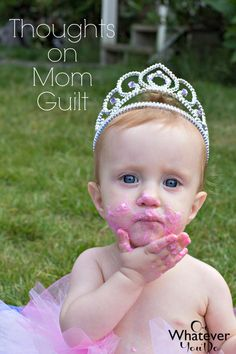 "Thoughts on Mom Guilt and never being ""enough"""