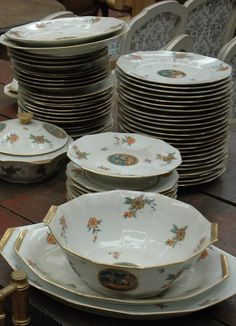 Vintage Limoges dinner set
