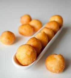Заварные сырные шарики