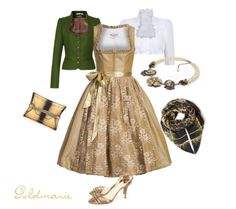 Goldmarie: Dirndl-Style der Woche beautiful dirndl and accessories