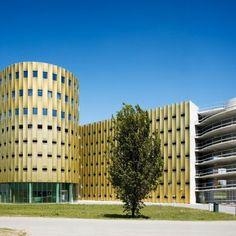 Estacionamiento: Architects: JHK Architecten Location: Utrecht, Holanda Area…