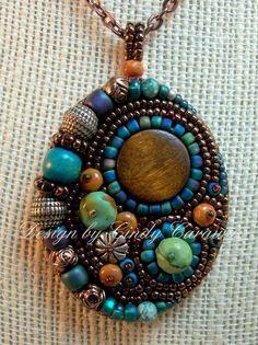Resultado de imagem para beaded embroidery jewelry