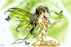 I Amy Brown. Next fairy tat will be one of her works of art. Fantasy Kunst, Fantasy Art, Elfen Tattoo, Amy Brown Fairies, Fairies Photos, Fairy Tattoo Designs, Kobold, Butterfly Fairy, Green Butterfly
