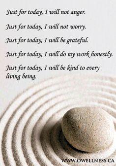 Reiki Principles to detox your life