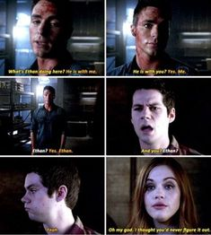 Teen Wolf Finale ok cool let's focus on the relationship none of us really cared to ship but not focus on any reaction at all or discussion of stiles and Lydia being together now in front of Jackson? That bothered me. Teen Wolf Quotes, Teen Wolf Funny, Teen Wolf Boys, Teen Wolf Dylan, Teen Wolf Cast, Tv Quotes, Teen Wolf Stydia, Teen Wolf Humor, Play Quotes