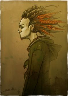 Feathers by ~enmi on deviantART