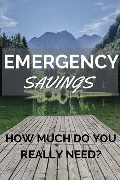 Sometimes scary situations make your reevaluate your emergency fund, but have you ever thought of what could be cut out, if drastically necessary?