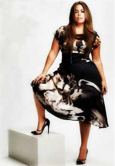 Plus Size Fashion: Plus Size Dress: