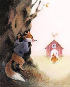 Genevieve Godbout illustration -Les plus beaux contes de Mère Grand