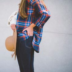 Wearing some of my favorite fall layers on findingbeautifultruth.com. Plus, this pretty plaid tunic is on super sale. It's the 'Navy Multi' style www.liketk.it/1Movs.