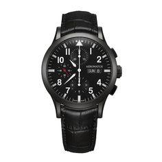 Aerowatch Les Grandes Classiques Chronographe Pilote Watch