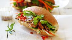 Grilled Chicken Bánh Mì | Prepare a filling and delicious meal in a flash by thinking outside the box