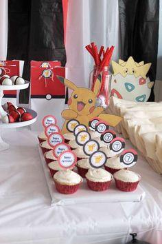 Pokemon  Birthday Party Ideas | Photo 15 of 27