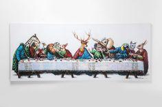 Πίνακας Touched Last Supper Metal Art Sculpture, Steel Sculpture, Large Outdoor Statues, Iron Wall Art, Outdoor Wall Art, Last Supper, Kare Design, Large Painting, Print Pictures