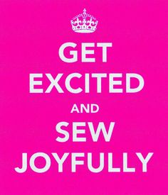 get excited and sew joyfully | Flickr - Photo Sharing!