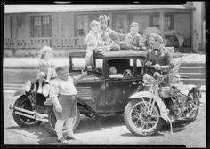 Car & Our Gang, Southern California, 1930 :: Dick Whittington Photography Collection, 1924-1987