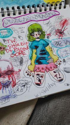 Cute Art Styles, Cartoon Art Styles, Emo Art, Grunge Art, Hippie Art, Dream Art, Art Reference Poses, Pretty Art, Art Music