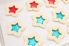 Stained glass cookies - from Glorious Treats.