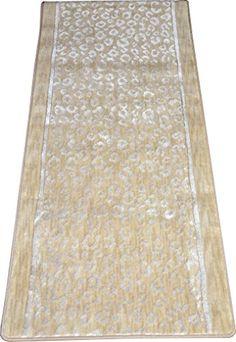 "Kenya Halo Beige Leopard Stair or Hall Premium Nylon Carpet Runner Rug 27"" W - Sold in Custom Lengths by the Linear Foot Dean Flooring Company http://www.amazon.com/dp/B00TA9S0RW/ref=cm_sw_r_pi_dp_mN2Zwb15WDHAM"