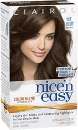 Nice N Easy 117 Natural Medium Golden Brown Clairol Hair Color, Medium Golden Brown, Best Hair Dye, At Home Hair Color, Color Me Beautiful, Color Blending, Easy Hairstyles, Dyed Hair, Health And Beauty