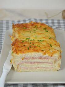 Croque cake. Pastel de jamón y queso con pan de molde | Cuuking! Recetas de cocina